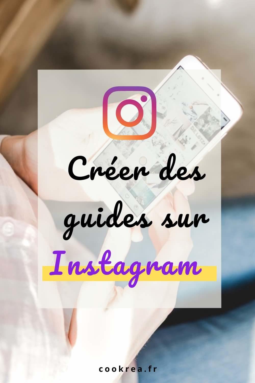 épingle pour pinterest smartphone dans la main créer des guides instagram